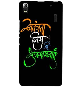 LENOVO K3 NOTE TEXT Back Cover by PRINTSWAG