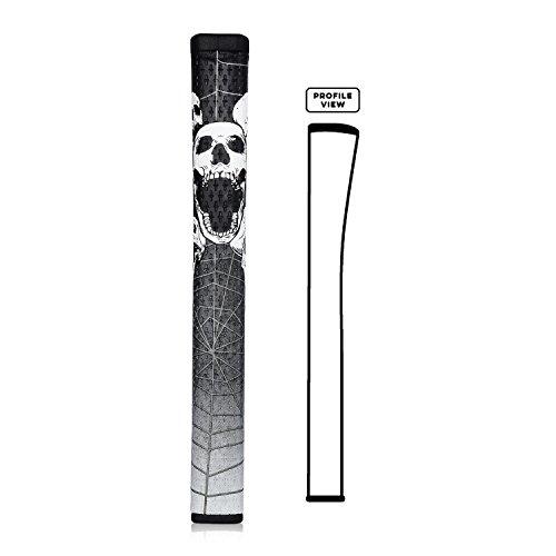 Champkey Tête de mort et araignée Pistolet GTR 2.0Putter de golf Grip choisir Couleurs, noir, Pistol GTR 2.0