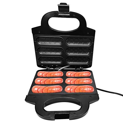 Dreameryoly Hot Dog Toaster Maker Machine Elektrischer Brotgrill Genießen Sie köstlich zubereitete Hot Dogs in nur 5 Minuten EU-Stecker