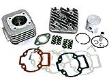 Tuningzylinderkit Big Bore Zylinder Kit für 50-er Quad und Roller auf 70cc Kit mit Zylinderkopf und Membran