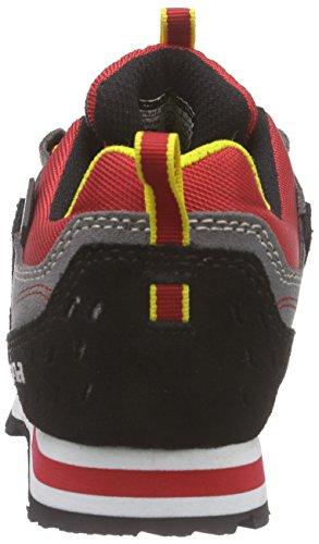 ALPINA - 680273, Scarpe da escursionismo Unisex – Adulto Rosso (Rot (red/black))