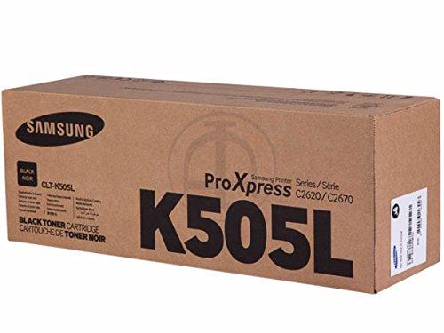 Preisvergleich Produktbild Samsung original - Samsung ProXpress C 2670 FW Premium Line (K505L / CLT-K 505 L/ELS) - Toner schwarz - 6.000 Seiten