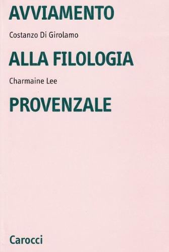 Avviamento alla filologia
