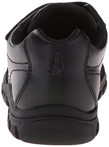 Hush Puppies Jace Uniform Oxford (Toddler/Little Kid/Big Kid) Black