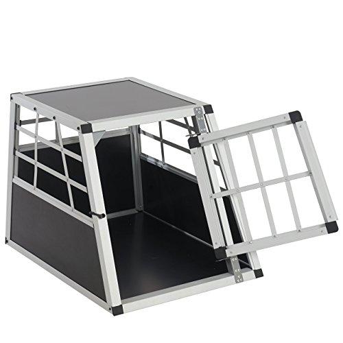 hundeinfo24.de Hundebox Transportbox Alubox Hundetransportbox ~ 50x54x69cm