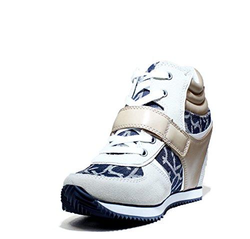 Calvin Klein Jeans Viridiana, Damen Hohe Sneakers White