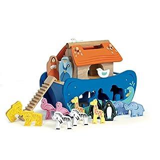 Le Toy Van TV212 Noah's Shape sorter