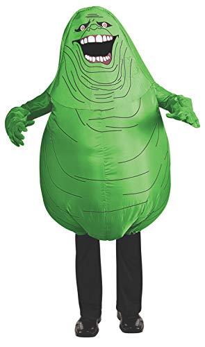 Rubie's Offizielles Ghostbusters Aufblasbares schlankeres Kostüm für Erwachsene, Einheitsgröße (Kinder Slimer Kostüm)