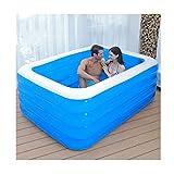 Soaking bath & Bañera para Adultos Familia de bañera Inflable Plegable No Cubierta de bañera, PVC...
