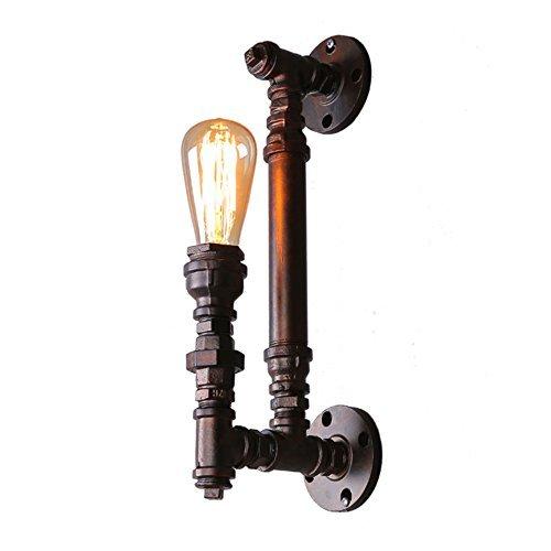 Retro-dampf-bügeleisen (KYDJ Vintage Industrielle rustikal Kupfer Dampf Wandleuchte, Bar Lampen Balkon Flur Gang Wandleuchte)