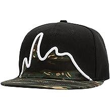 LINNUO Berretto Snapback Cappellini da Baseball Ricamo cap Cappello Hip-Hop  Regolabile Uomo Donna 36b40c9a791f