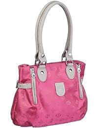 Poodlebags Club - Attrazione - Napoli - 3CL0313NAPOP, Borsa a spalla donna 30x26x12 cm (L x A x P), Rosa (Pink (pink)), 30x26x12 cm (L x A x P)