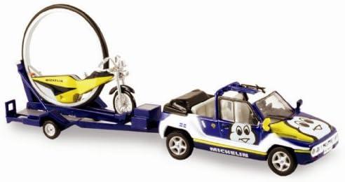 Norev - 880011 - Véhicule Miniature - Mega Loisir Loisir Loisir  Moto Roue Michelin - Echelle - 1/43e de5888