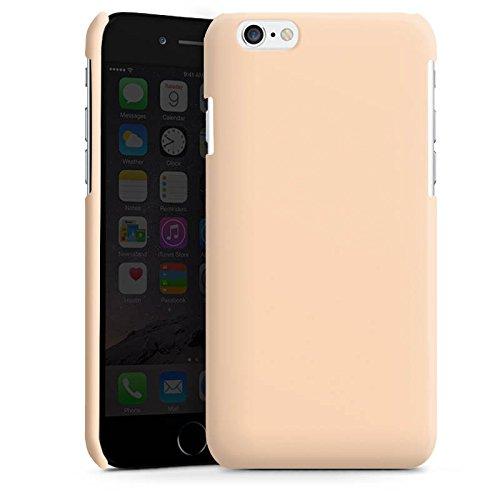Apple iPhone 4 Housse Étui Silicone Coque Protection Pêche Couleur Sable Cas Premium brillant