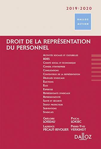 Droit de la représentation du personnel - Nouveauté