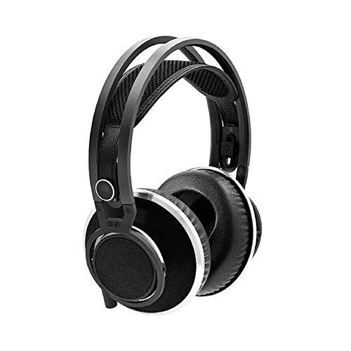 Kompatible Over Ear Bluetooth-Kopfhörer Kabellose Kopfhörer, High-End-HiFi-Stereoanlage mit verlustfreiem Chip, handgefertigtem Stil und Musikwiedergabe kompatibel Die meisten Smartphones sind schwa