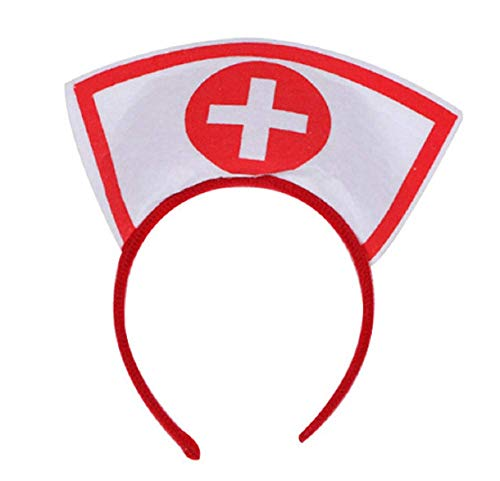 Inception pro infinite Krankenschwester Stirnband - Kostüm Cross Dressing Karneval Halloween Cosplay Accessoires Mann Frau ()