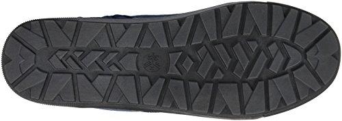 Jana 26219, Sneakers Hautes Femme Bleu (Navy 805)