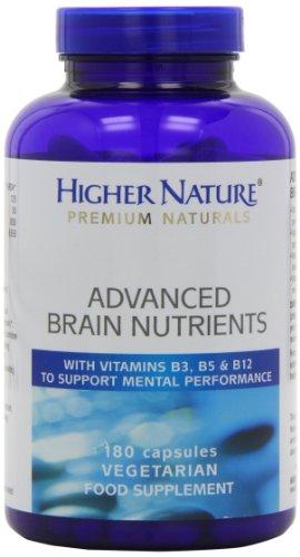 Higher Nature, Nutriments PN cérébrales avancées, 180 Comprimés