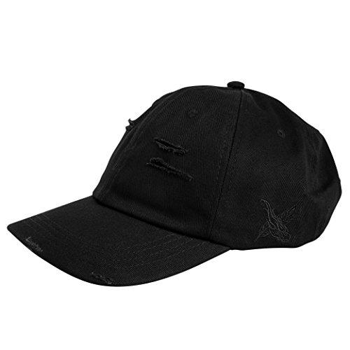 Phoenix Wayfarer Polo Cap Retro Vintage Snapback Unisex Baseball Mütze Schwarz
