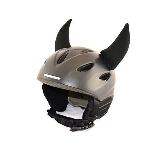 Helm-Ohren Hörner für den Skihelm, Snowboardhelm, Kinder-Helm, Kinder-Skihelm oder Motorradhelm -...