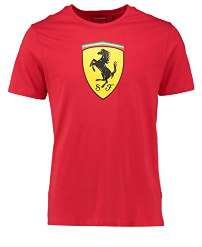d5f83e1b07c1a Scuderia Ferrari Kids Rookies Classic camiseta de manga corta