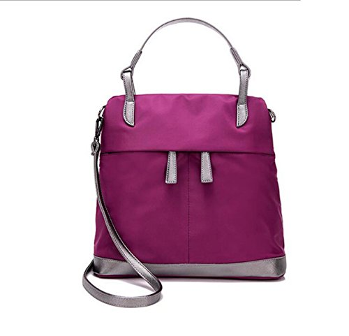 Borse A Tracolla Messenger Borse Multitasche Crossbody Impermeabile Borse Purple