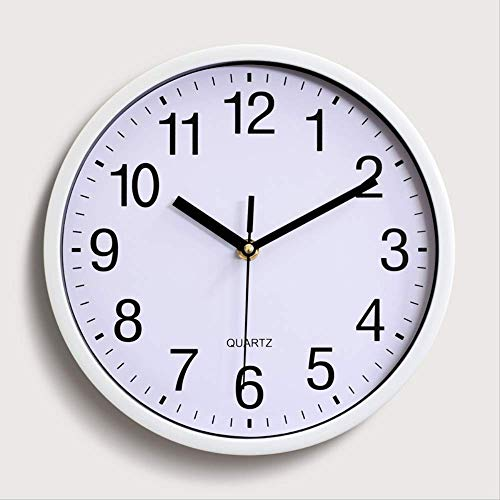 Wand Analog Clock Silent Non Ticking Batteriebetriebene Easy Read Kit Home Wohnzimmer Dekoration ()