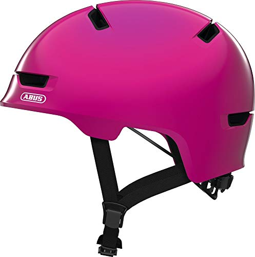 Abus Scraper 3.0 Helmet Kids Shiny pink Kopfumfang M | 54-58cm 2019 Fahrradhelm