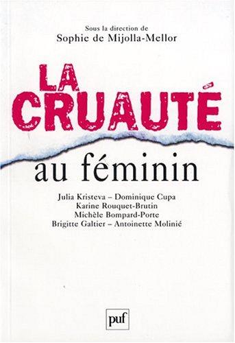 La cruauté au féminin
