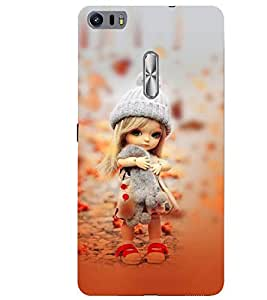 Fiobs lovely girl doll cute girl amazing beauty little kid child playing Designer Back Case Cover for Asus Zenfone 3 Ultra ZU680KL (6.8 Inch Phablet)
