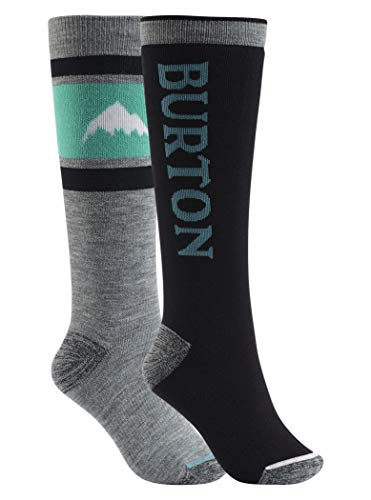 Burton Damen Weekend Snowboardsocken schwarz M/L - Burton Socken Schwarz