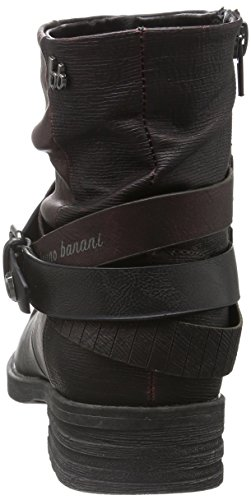 Bruno Banani - Bootie, Stivali bassi con imbottitura leggera Donna Multicolore (570 WINE)