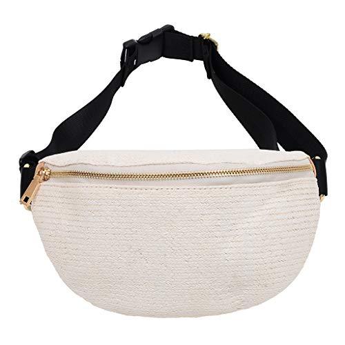 OIKAY Mode Damen Tasche Handtasche Schultertasche Umhängetasche Mode Neue Handtasche Frauen Umhängetasche Schultertasche Strand Elegant Tasche Mädchen 0605@076