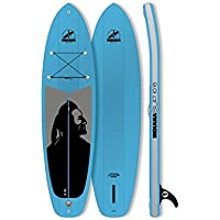 Indiana SUP 10'6 Family Inflatable Sup Pack with 3 Pieces Fibre/Plastic Paddle Blue 2018 Board