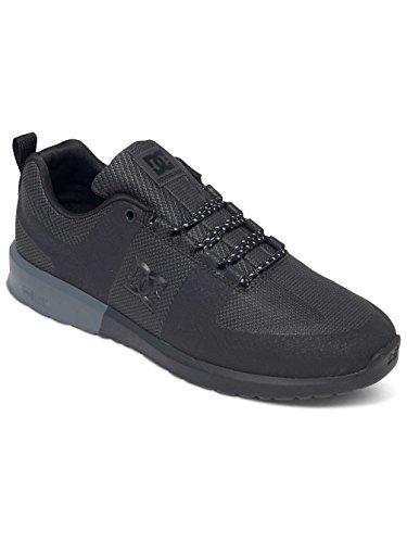 DC Shoes Herren Schuhe Lynx Lite R, Scarpe da Skateboard Uomo Black/Black