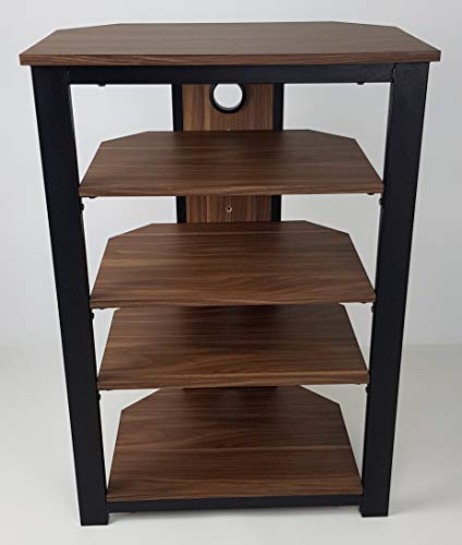 Gecko Tower TOW500 5 Hi-Fi Holz-Regal