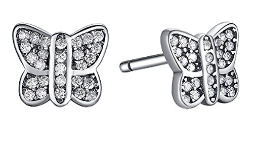 saysure-925-sterling-silver-sparkling-butterfly-stud-earrings