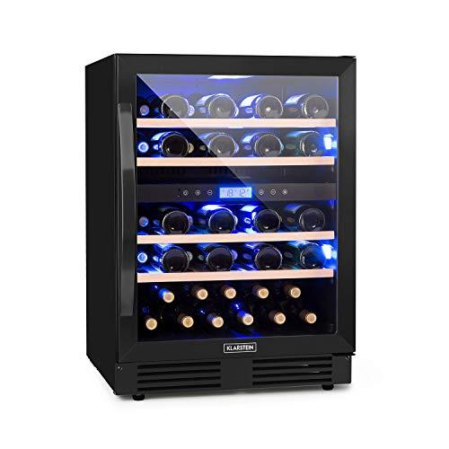 Klarstein Vinovilla Onyx 43 Vinoteca - 129 l, 43 botellas de vino,...
