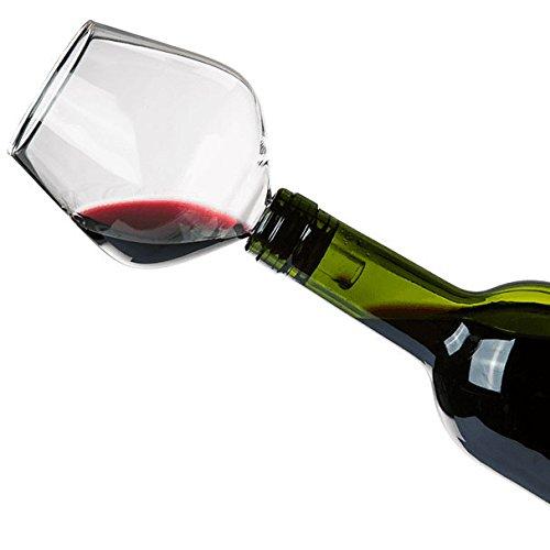 Shop Story–integrierbare Flaschen in Form von Weinglas–Fini La Buvette im Saftflaschen.