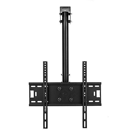 Vemount TV Deckenhalterung Schwenkbar Neigbar Fernseher Halterung 32-55 Zoll Monitorhalterungen Fernsehhalterung LED LCD Halter Flachbildschirm VESA 400x400 Belastung bis zu 50 kg max