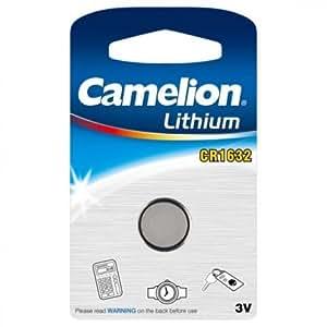 Camelion Lithium pile bouton, CR1632 / DL1632 / E-CR1632, 3V - 1 pièces