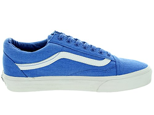Vans Herren Old Skool Plateau (Overwashed) Nautical Blue