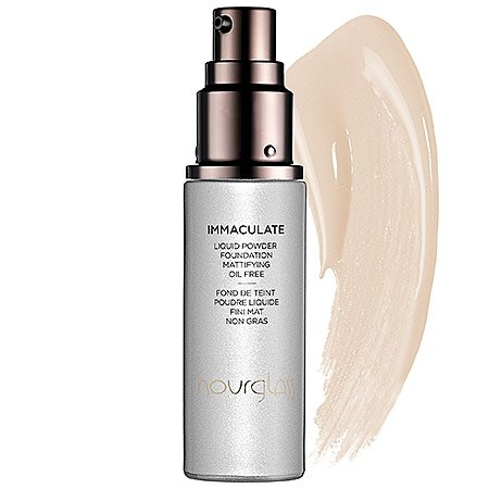 Hourglass ~ Porcelain - very fair with yellow undertones ~ Immaculate Liquid Powder Foundation Mattifying Oil Free 1 oz. by Hourglass