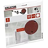 Kreator - KREATOR - Lot de 5 disques auto-aggripants - grain 180 -Ø 225 mm