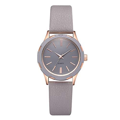 Floweworld Neue Damenmode einfache Uhren Multicolor ledergürtel damenuhr Quarz armbanduhren -