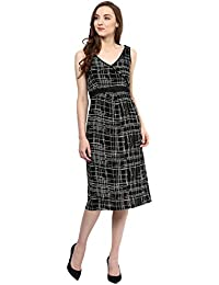 Taurus Women's Black Sketch Dress