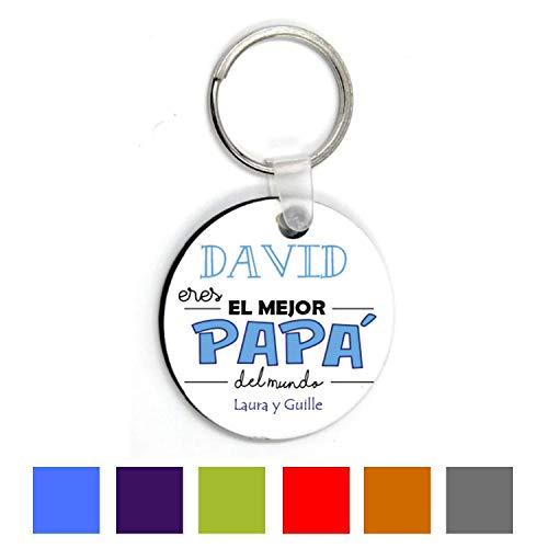 Llavero Personalizado/Regalo Día Padre/Papa/Hombre/Chico/Cumpleaños/Original