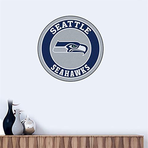 Wandtattoo Seattle Seahawks # 10 Team Logo Wandaufkleber Vinyl Wandaufklebe
