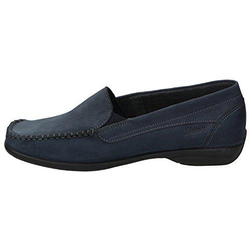 Sioux Damen Slipper Babs-161 Blau